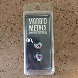 💰Morbid Metals 00g gauges (men's or women's)💰